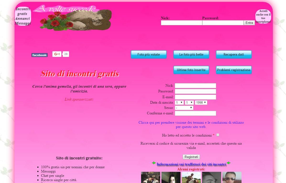erotico ita siti per single non a pagamento